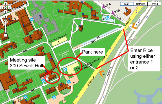 Uh Clear Lake Campus Map.Houston Hfes Events